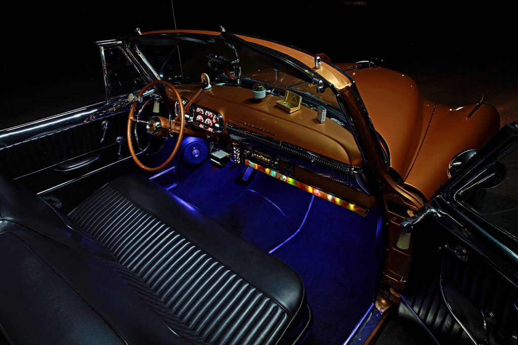 1953 chevrolet deluxe convertible dash