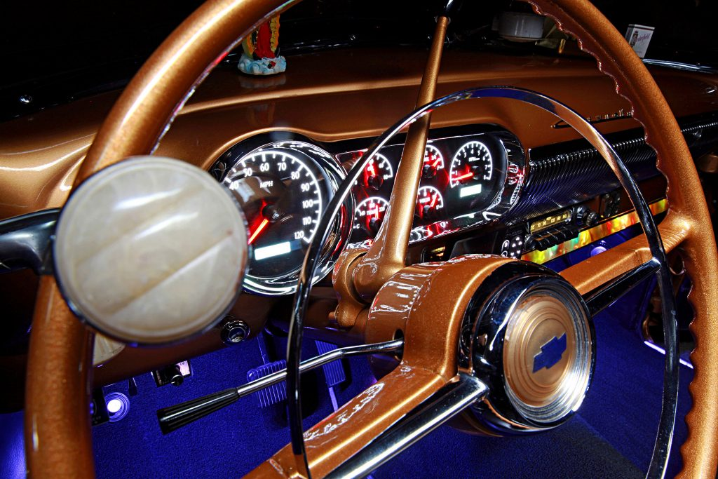 1953 chevrolet deluxe convertible steering wheel