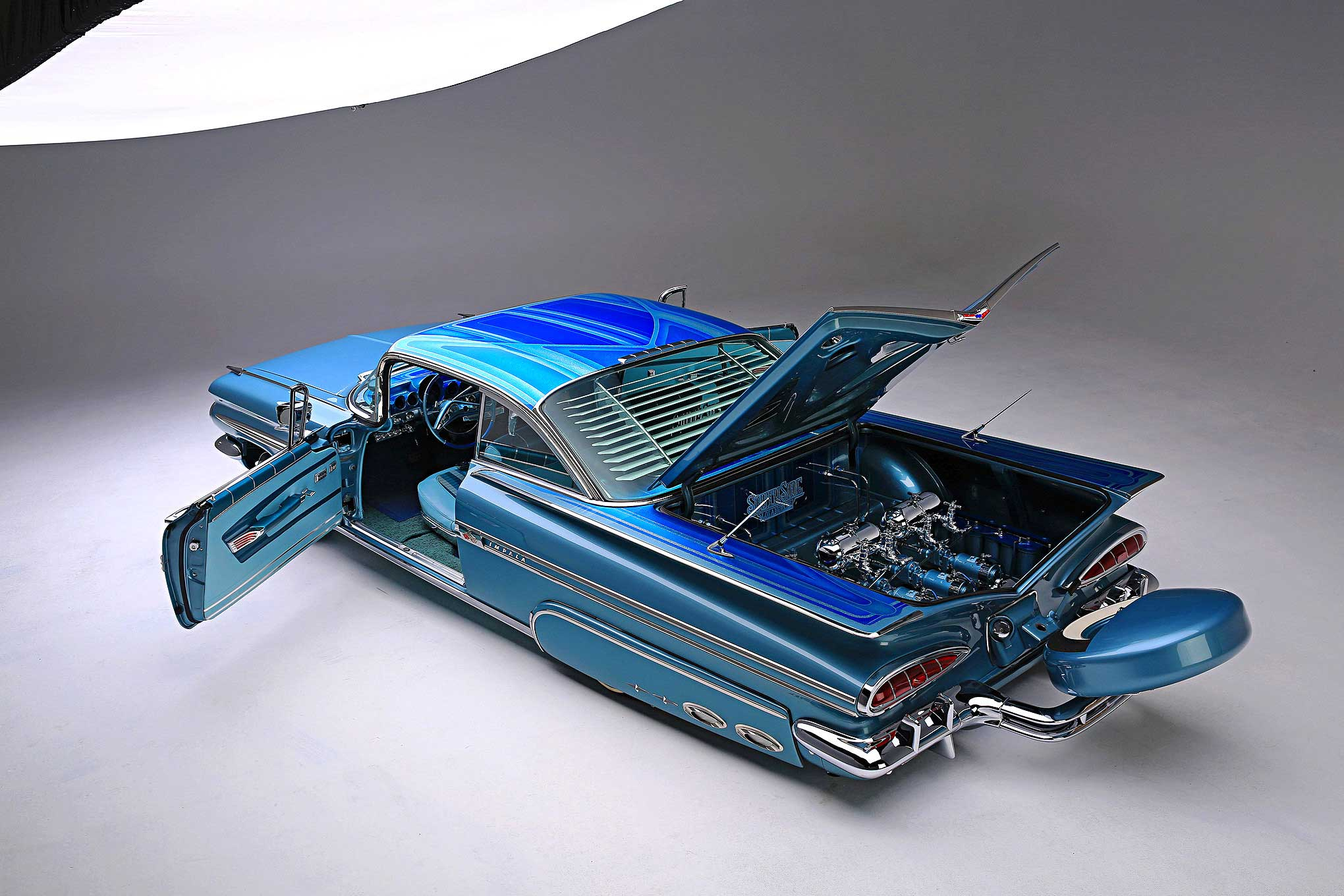 1959 Chevrolet Impala Built In Tijuana Chevy Rear Wiring Harness 58 72