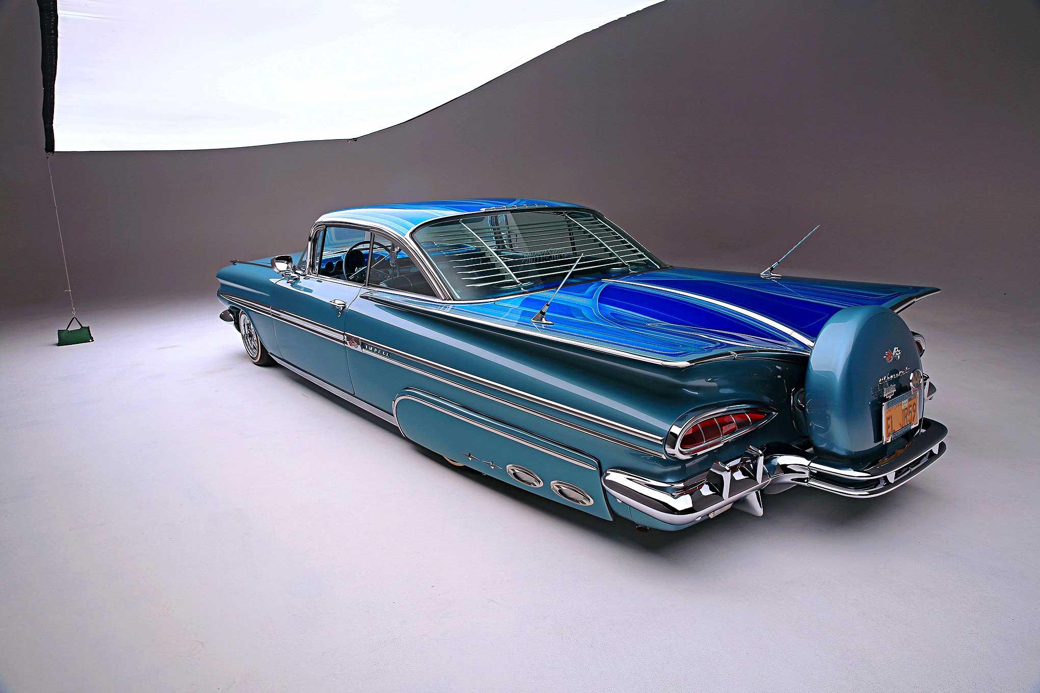 1959 Chevrolet Impala Built In Tijuana Chevy Rear Wiring Harness 33 72