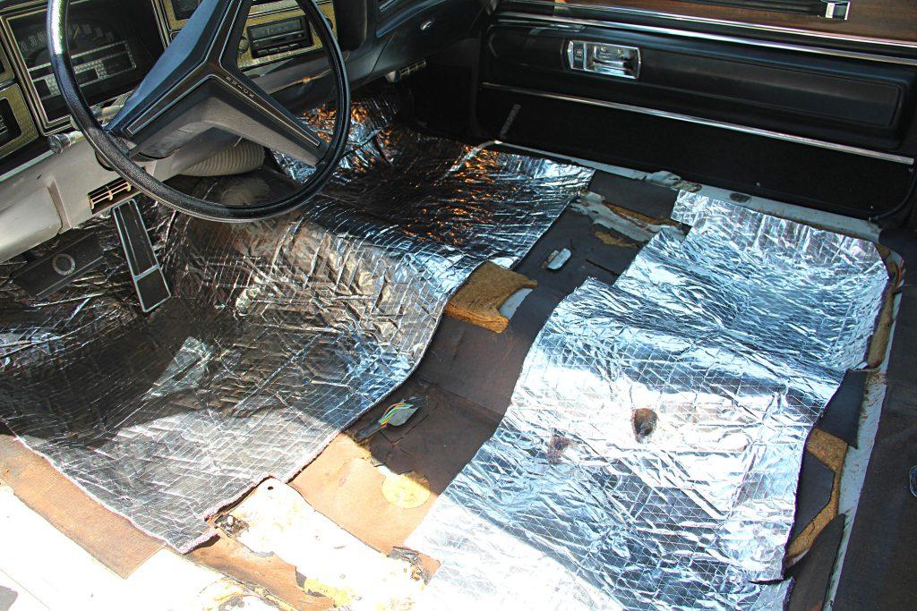 63 67 buick riviera interior restoration jute pad install