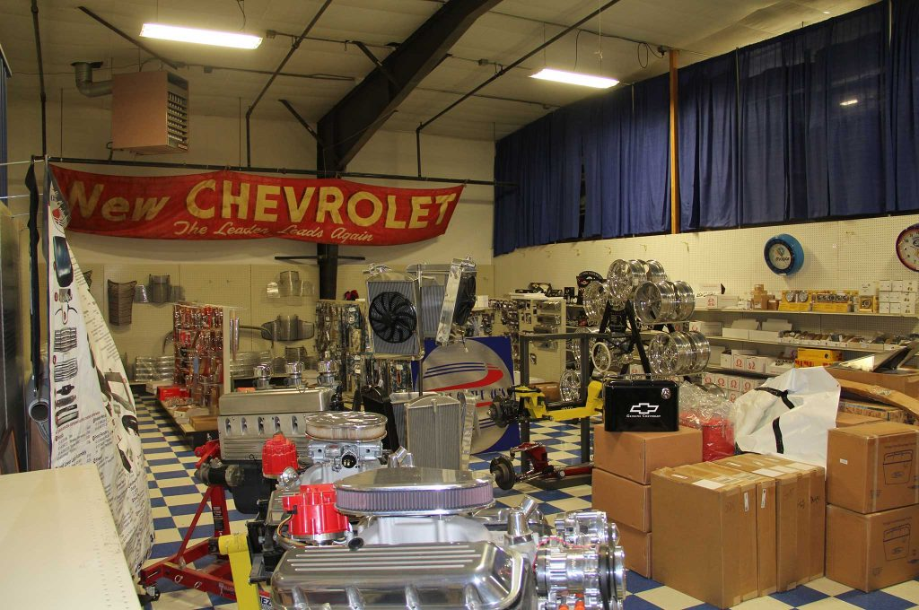 chevs of the 40s shop space