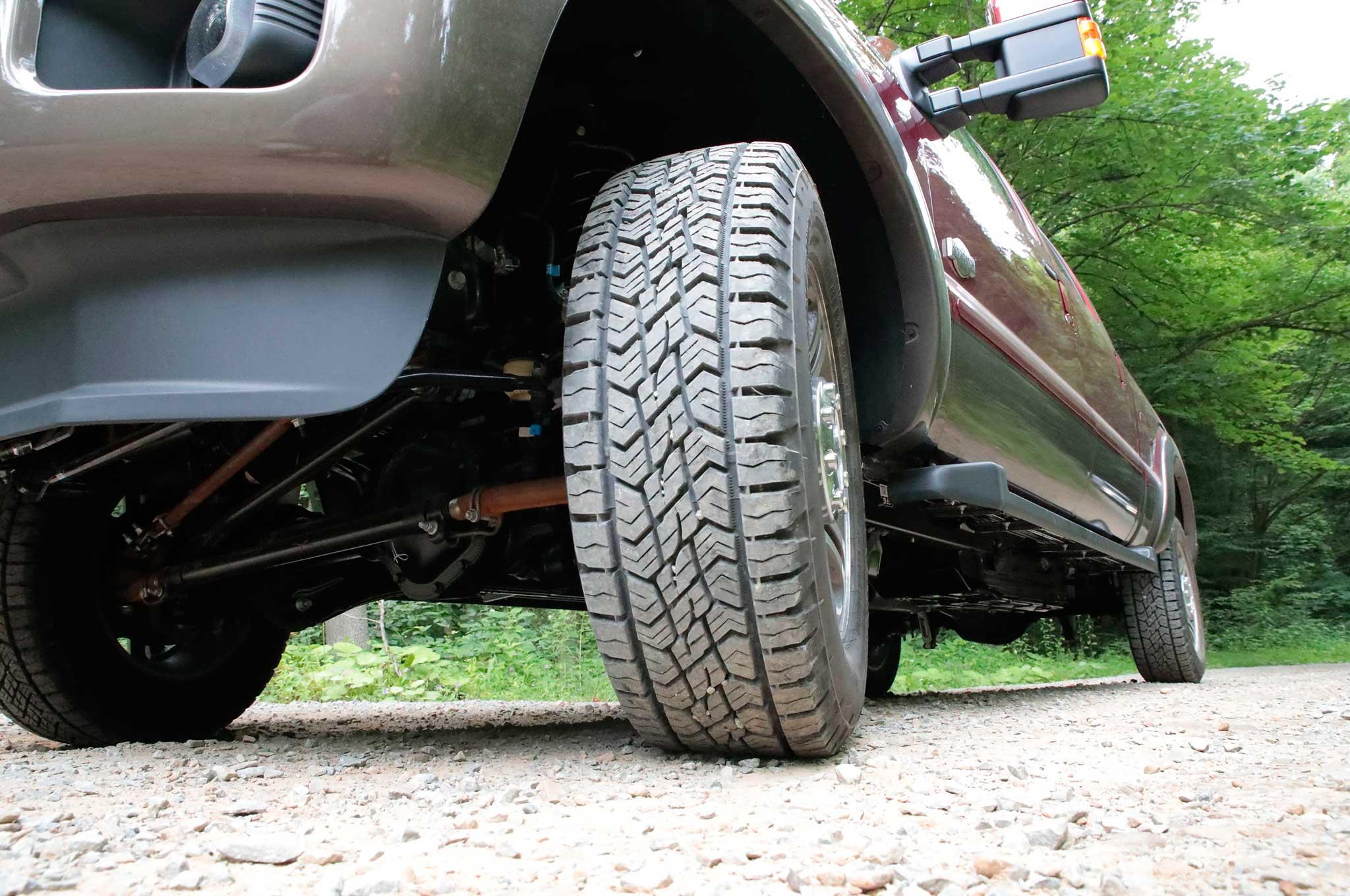 Lowrider Review Continental Tires Terraincontact A T 2001 Chevy Silverado Rear Bumper Wiring Diagram 1 4