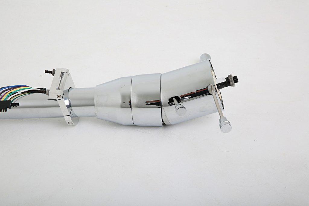 ididit universal tilt series chrome steering column 002