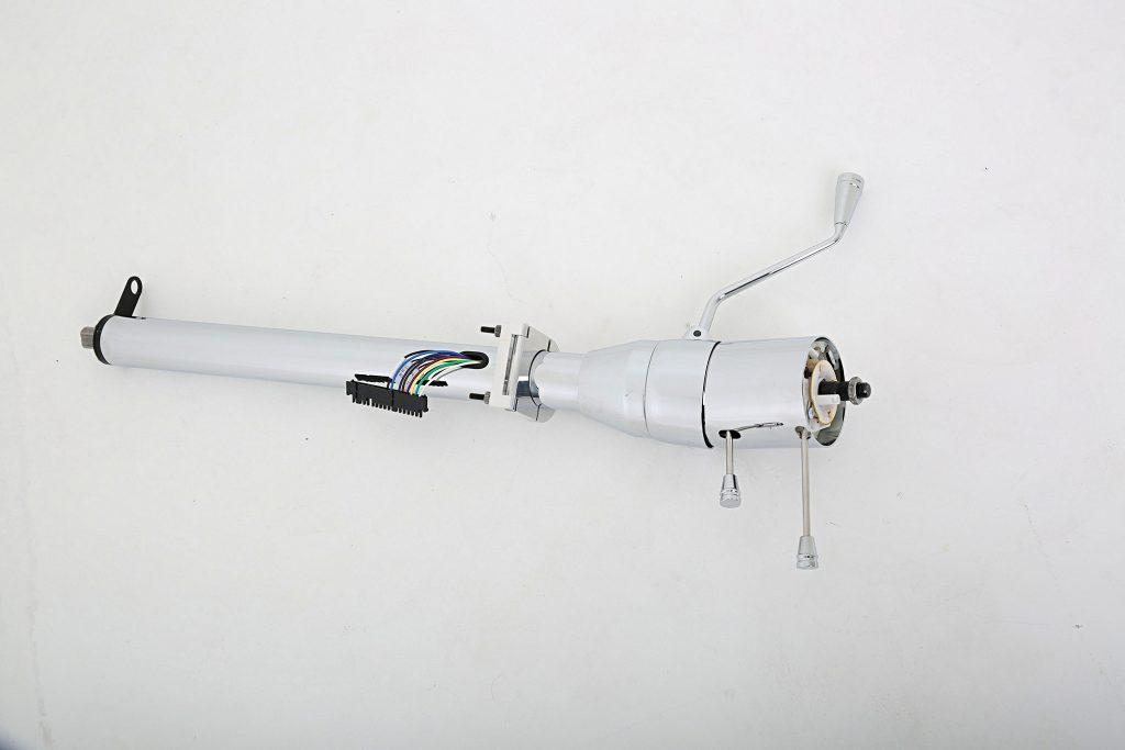 ididit universal tilt series chrome steering column 005