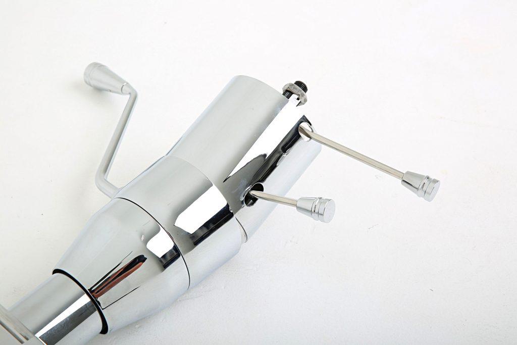 ididit universal tilt series chrome steering column 007