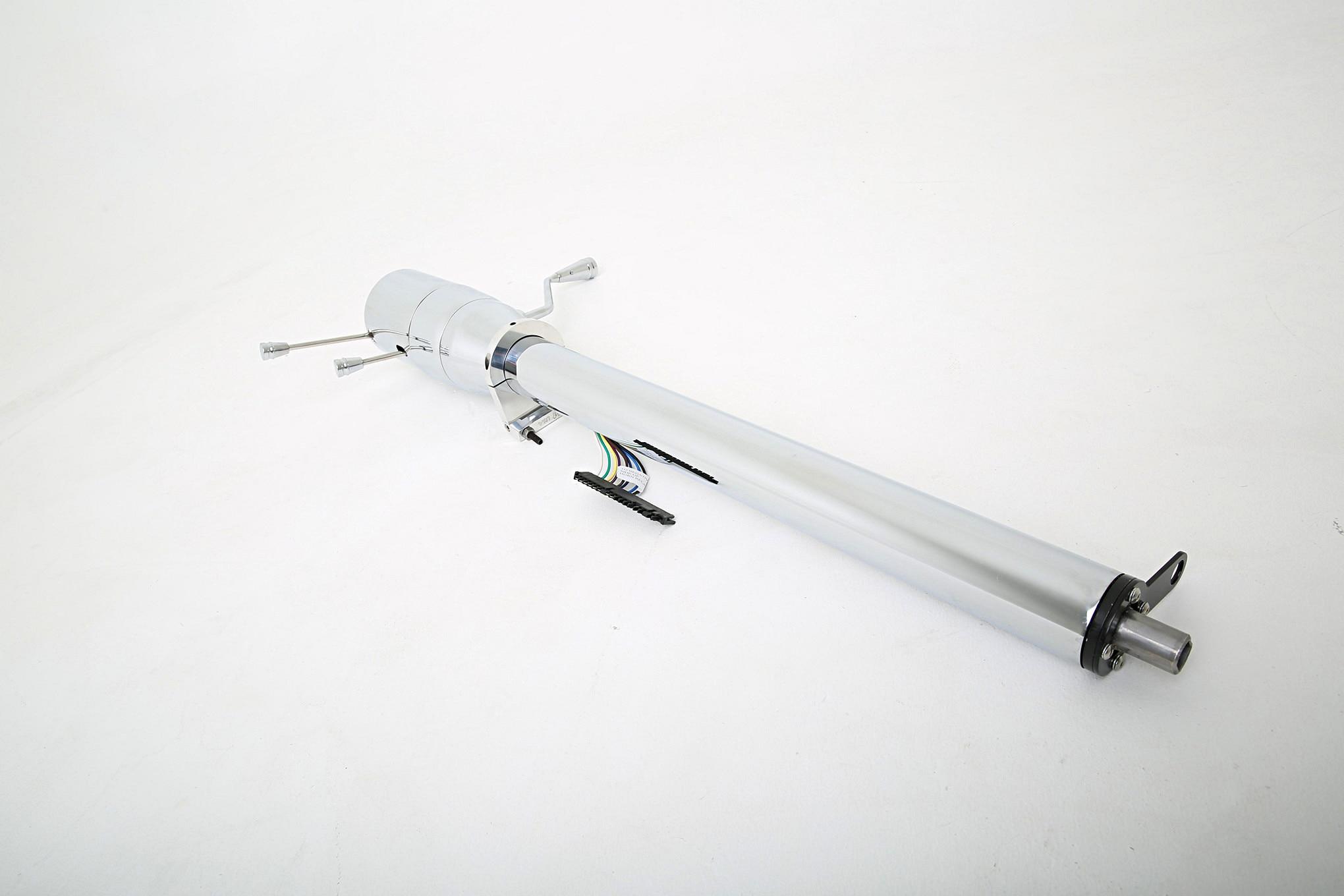 ididit universal tilt series chrome steering column 024