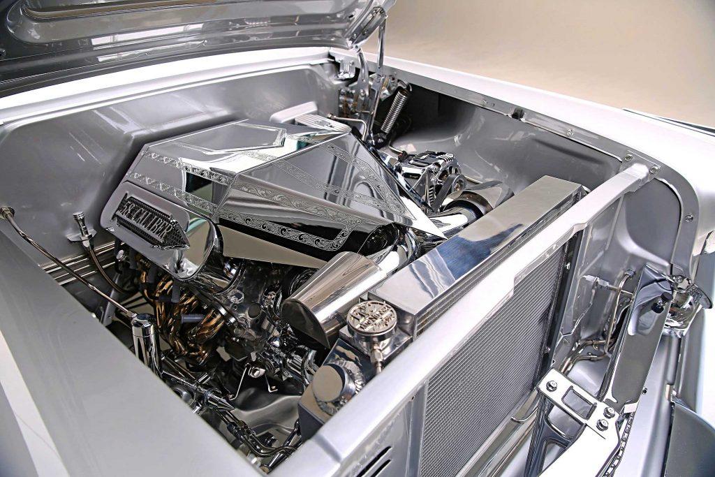 1958 chevrolet impala convertible ls motor