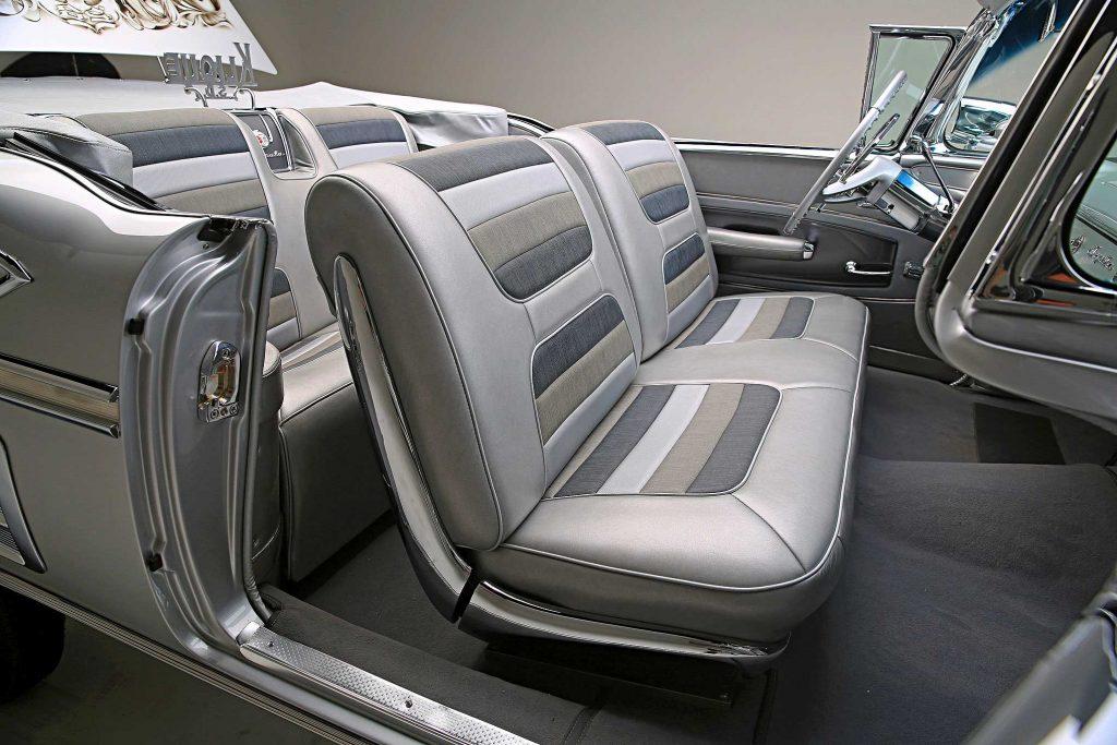 1958 chevrolet impala convertible seats