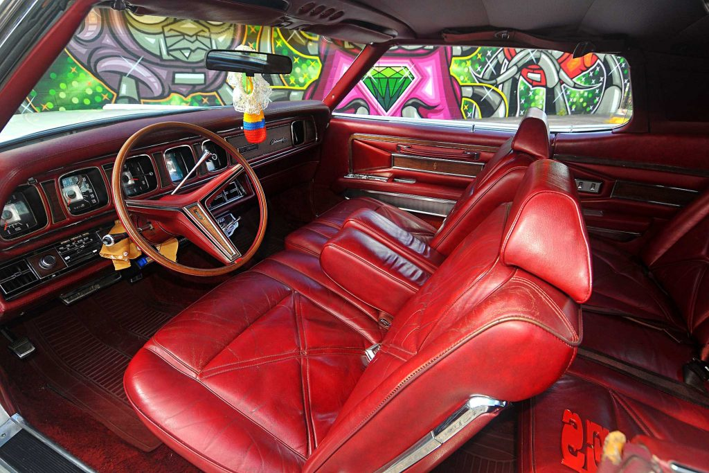 1971 lincoln continental mark iii front seats