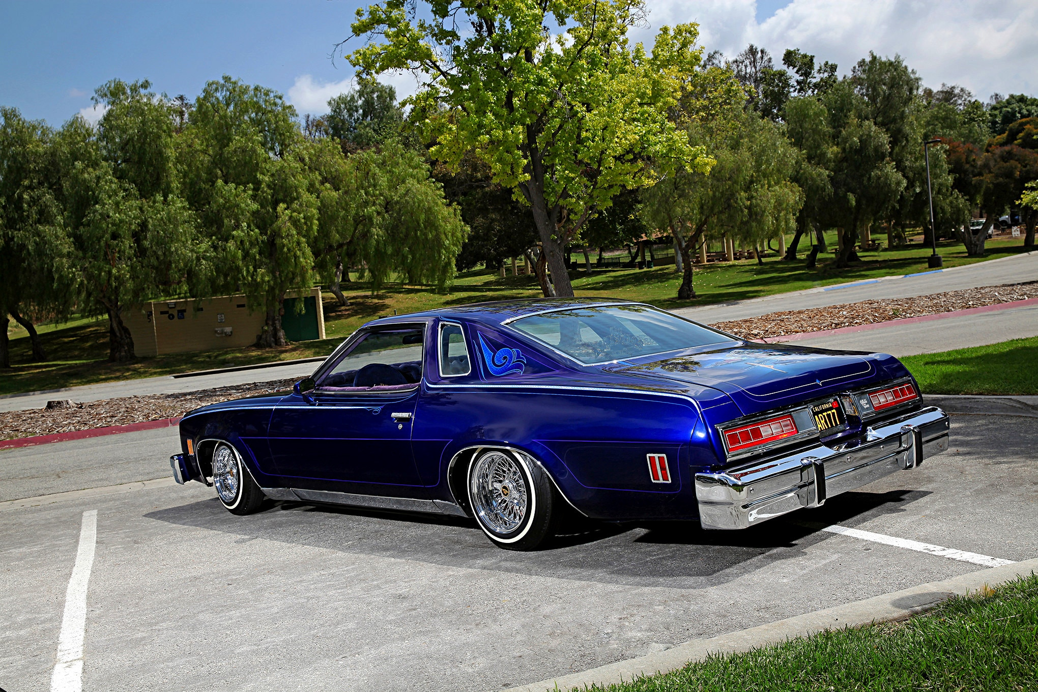 1977 Chevrolet Malibu Classic Driver Side View Lowrider