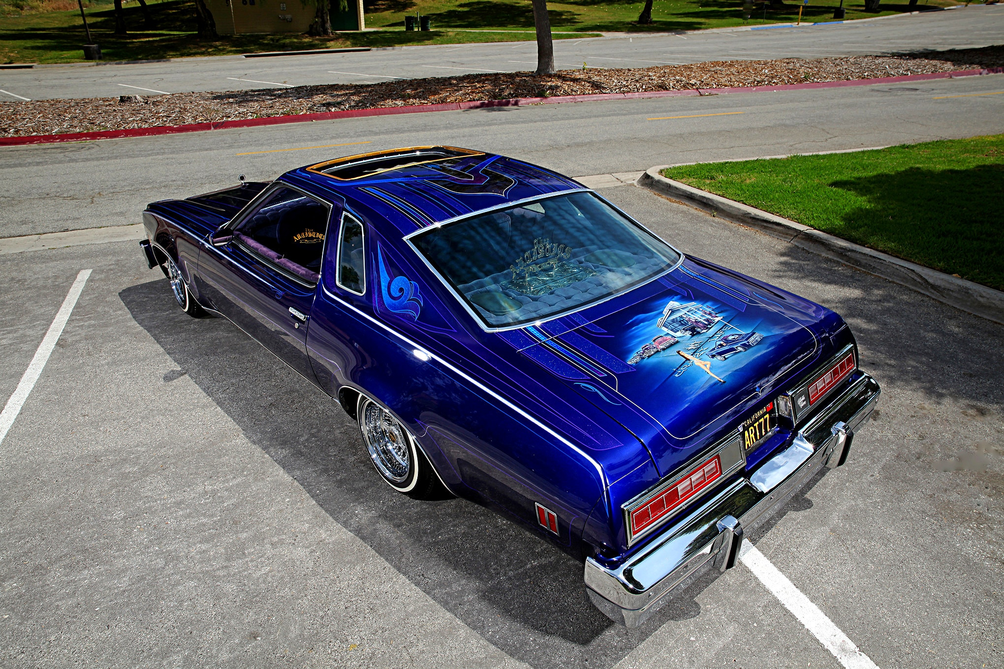 1977 Chevrolet Malibu Classic Top View Lowrider