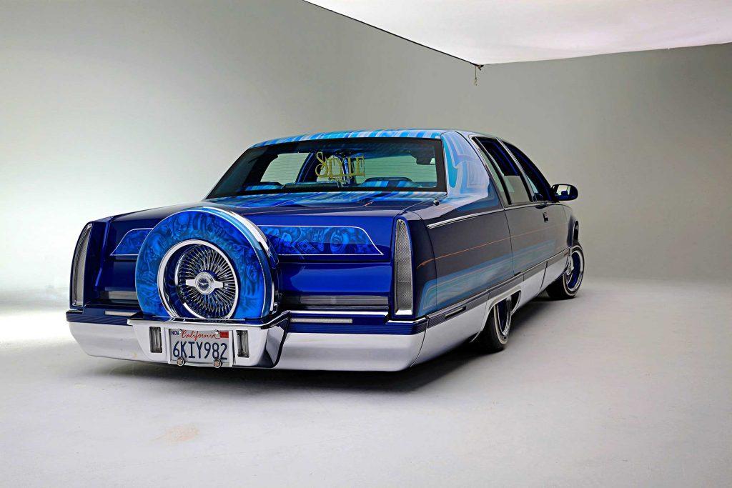 1995 cadillac fleetwood rear bumper