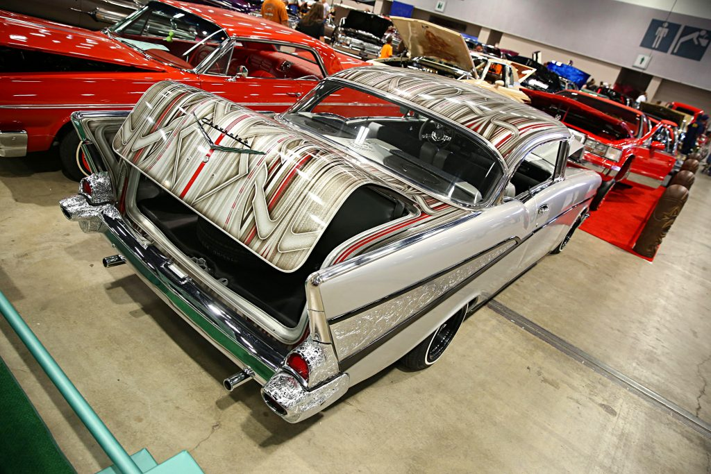 2016 albuquerque super show patterned 1957 bel air
