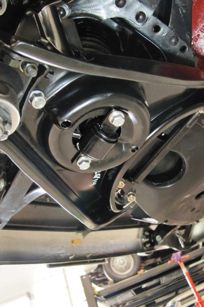 updating a tri five frontend with cpp oe style components ball joint nuts
