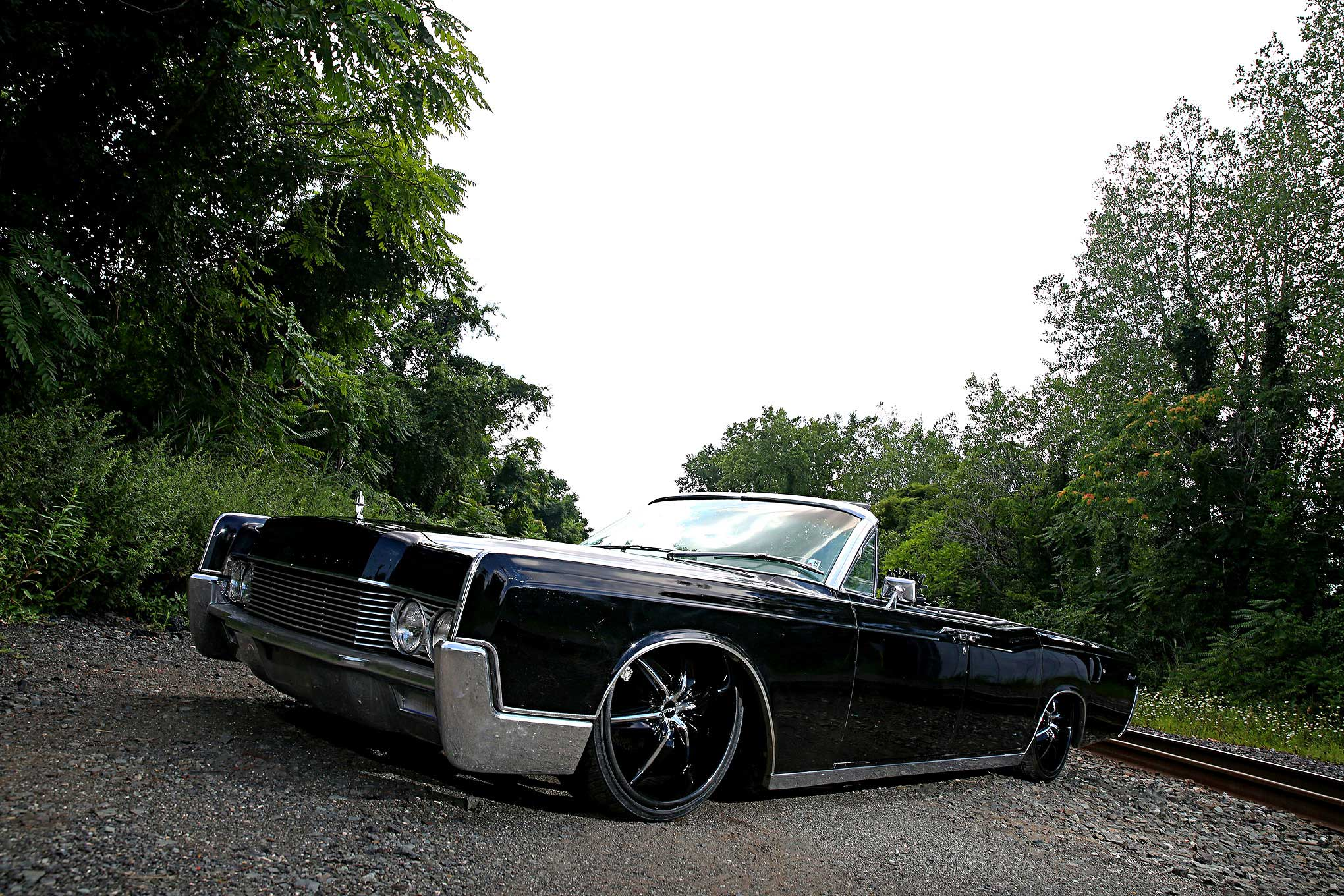 Lincoln Continental Convertible Dropped Top