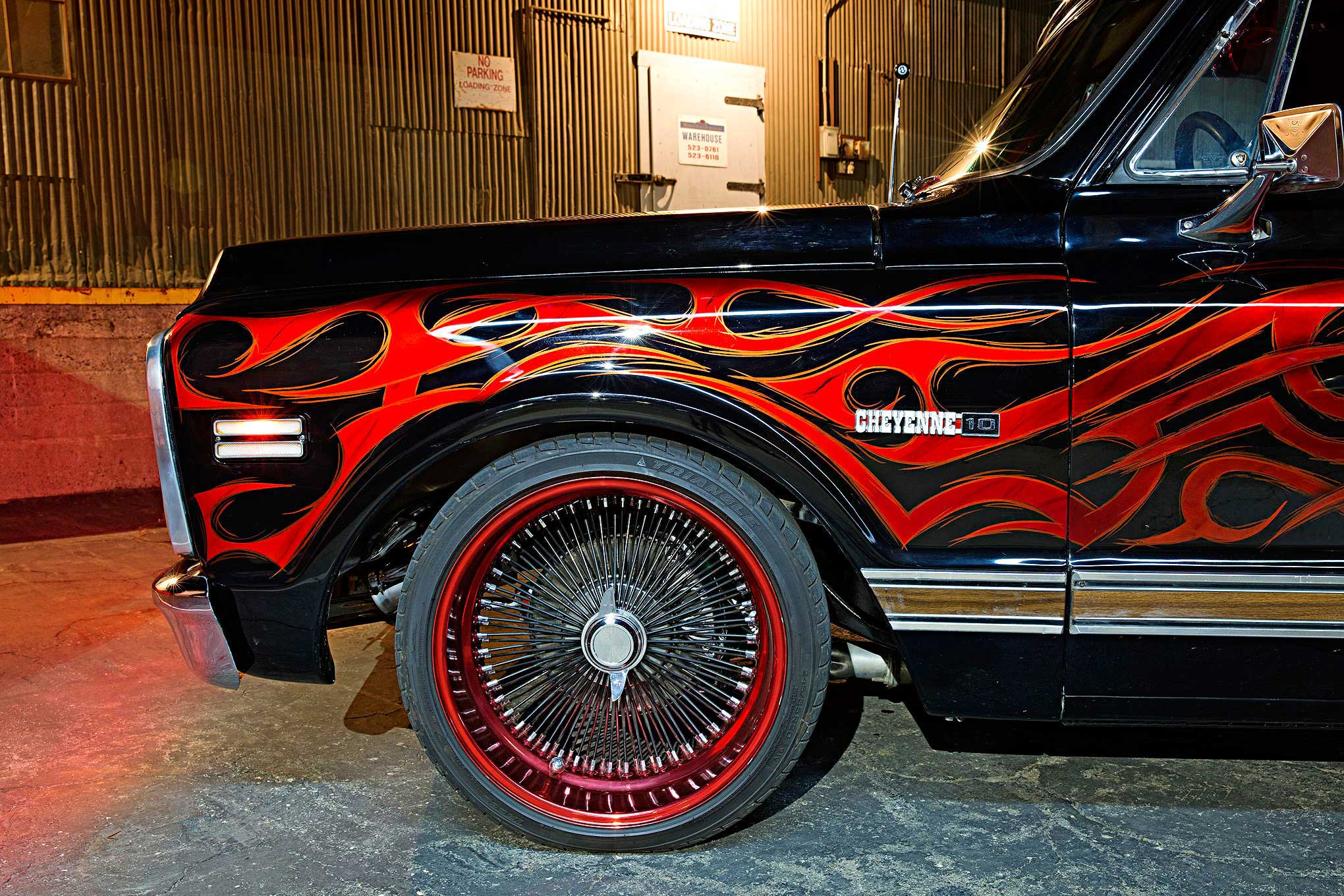 Al Corona's 1972 Chevy Cheyenne - Skanless 72