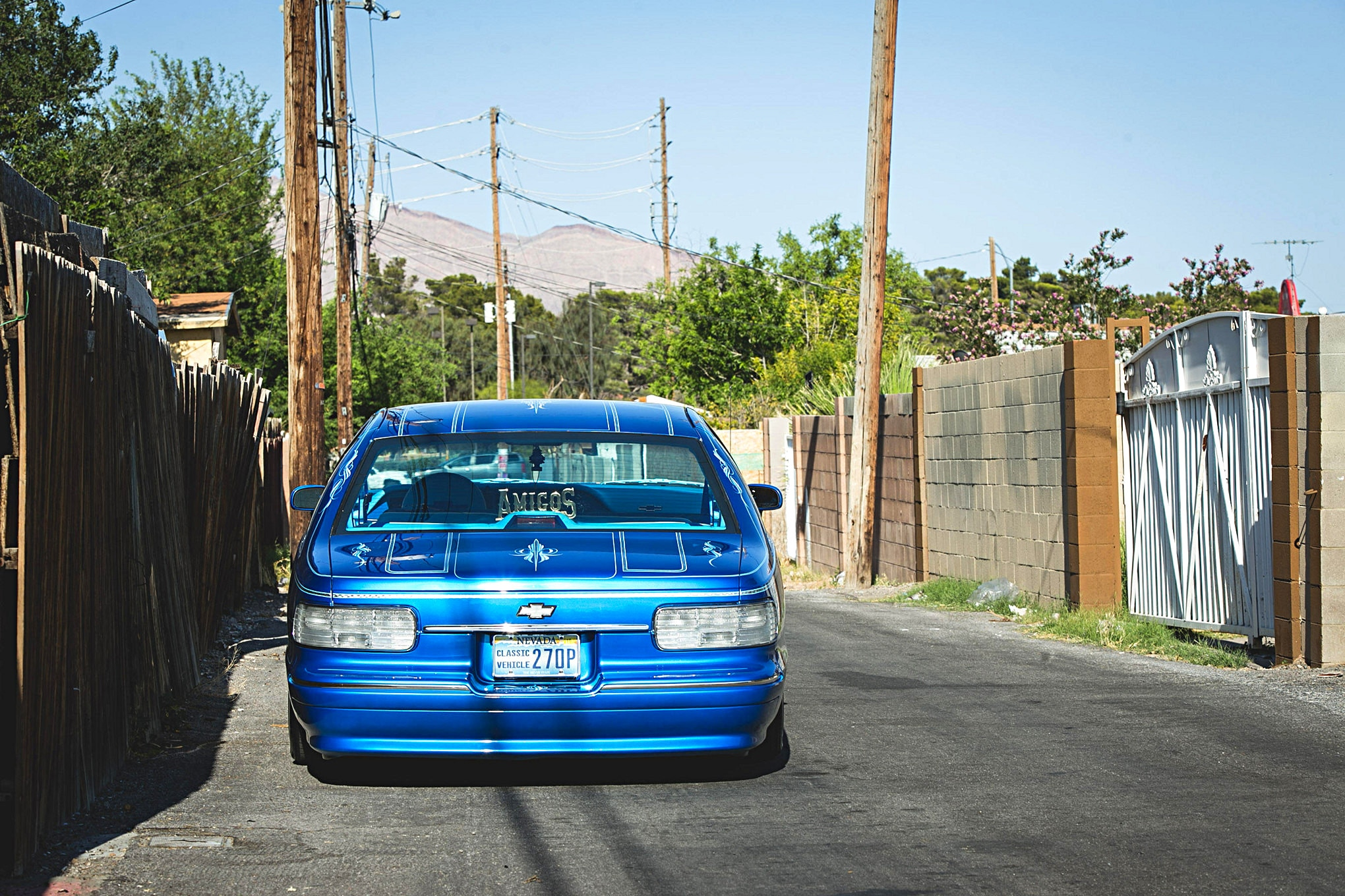1992 Chevrolet Caprice Rear Bumper
