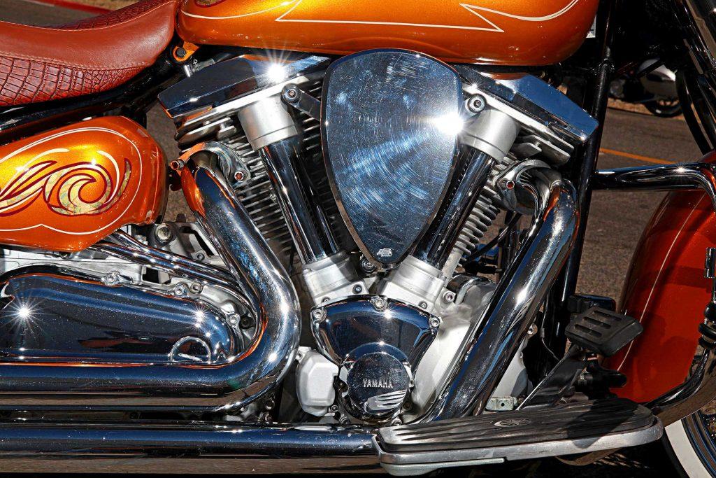1999 yamaha roadstar v twin engine