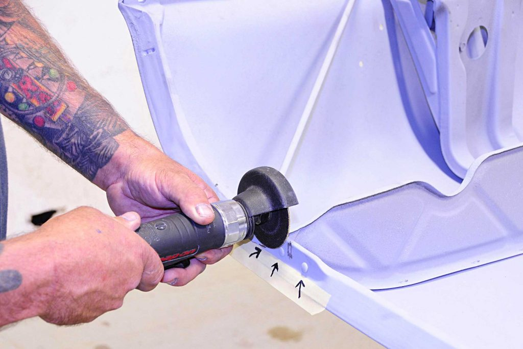 eddie motorsports billet goodies factory rivet removal