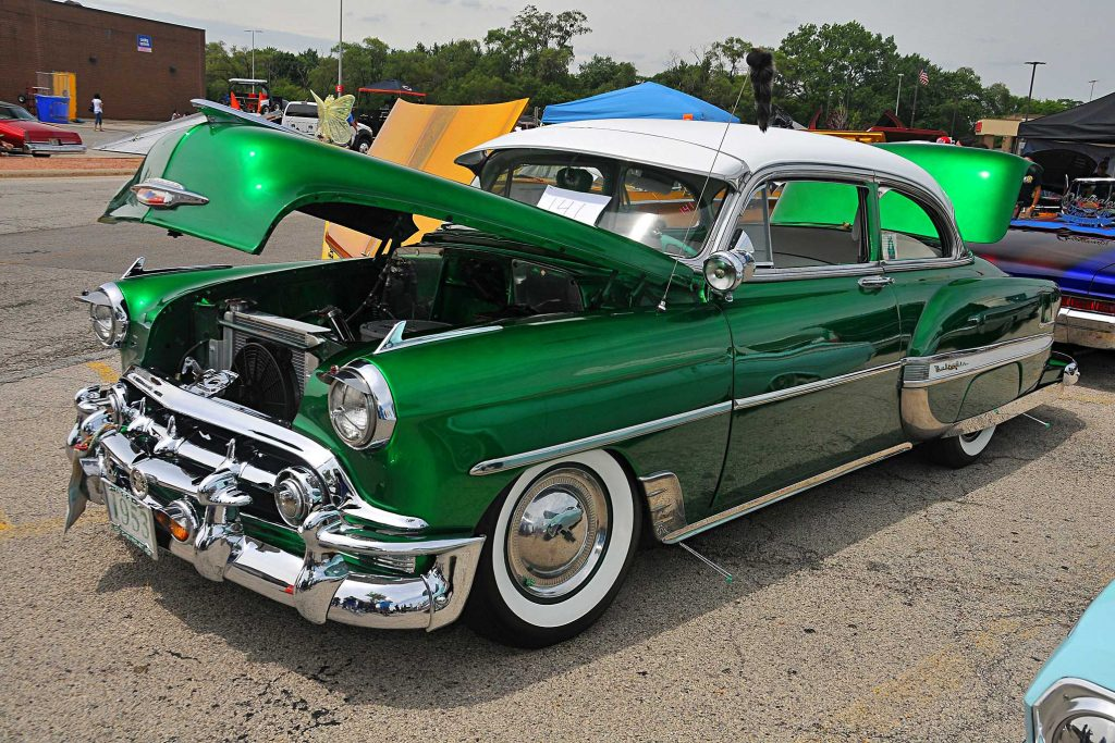 independent chicago car show candy green bomb