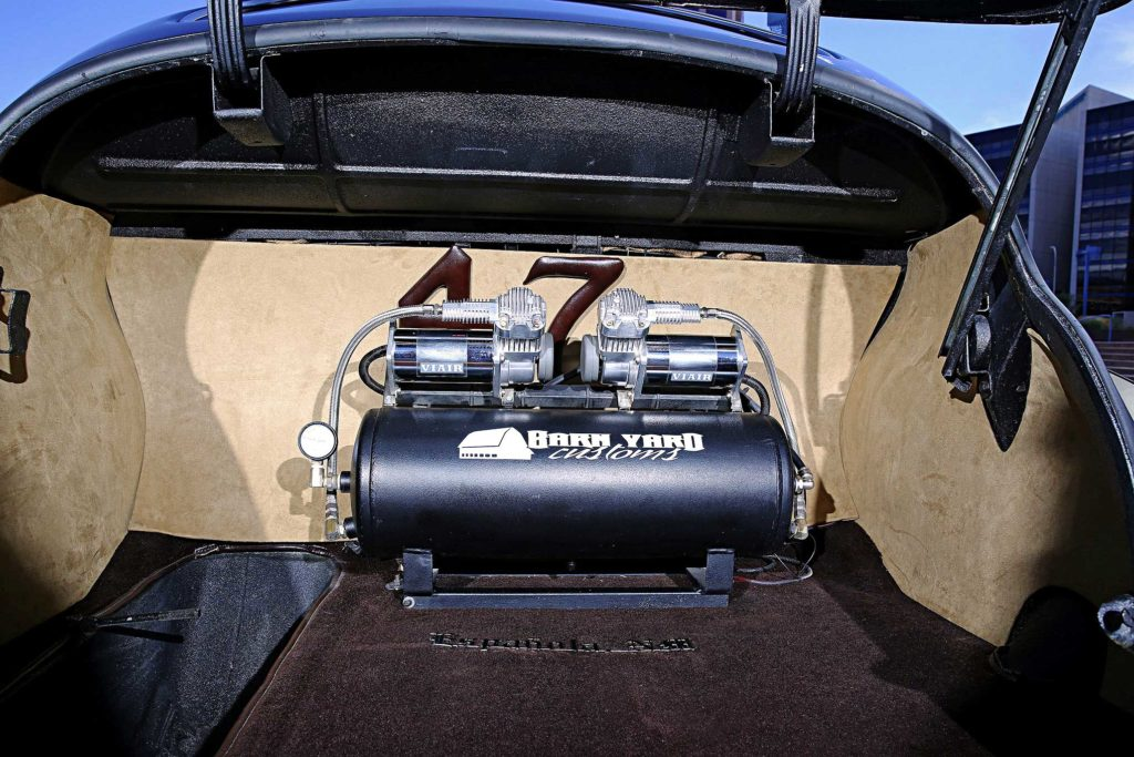 1947 chevrolet fleetline trunk setup