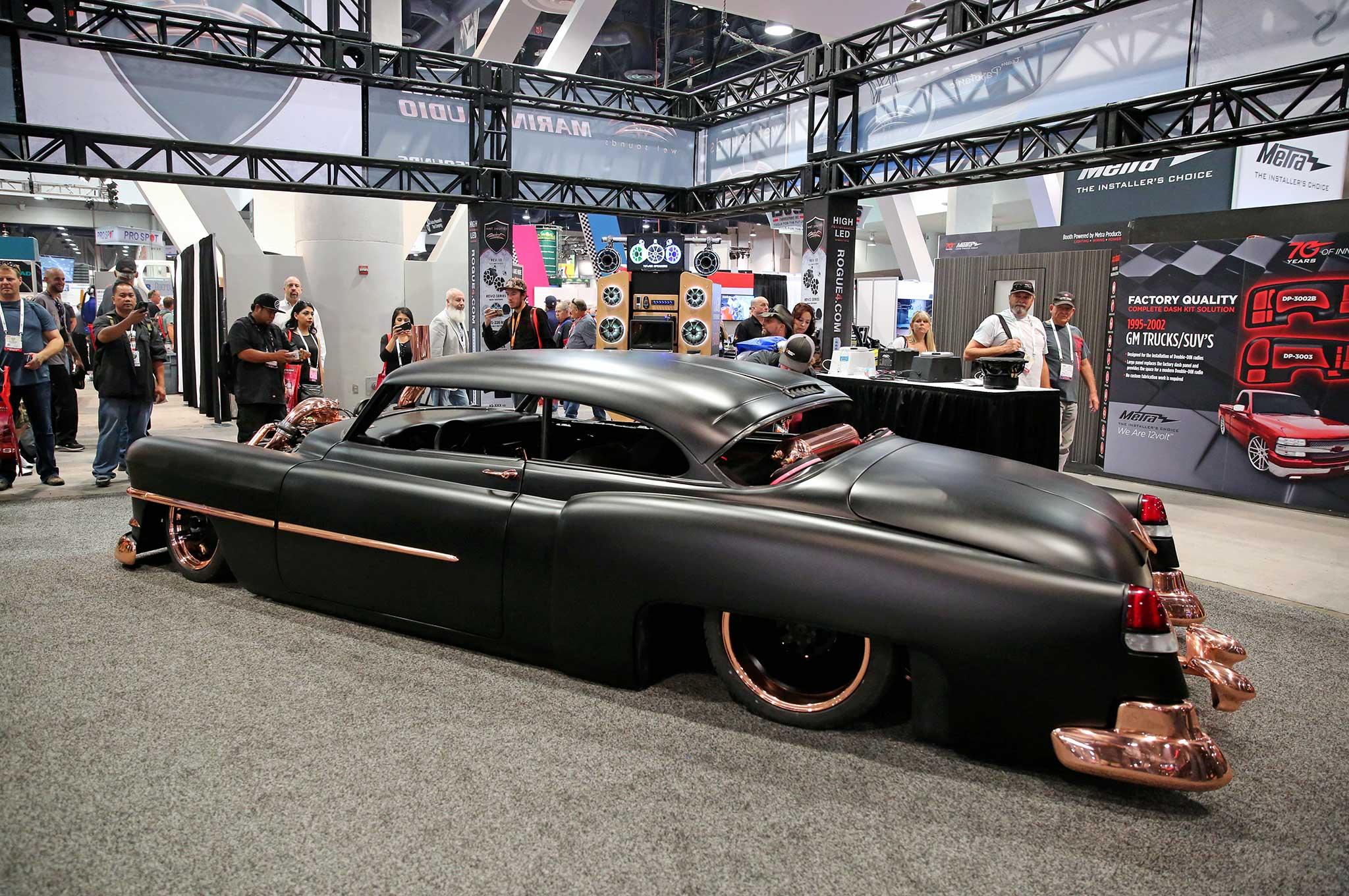Cummins Powered 1950 Copper Cadillac At Sema 2016 Tensema16