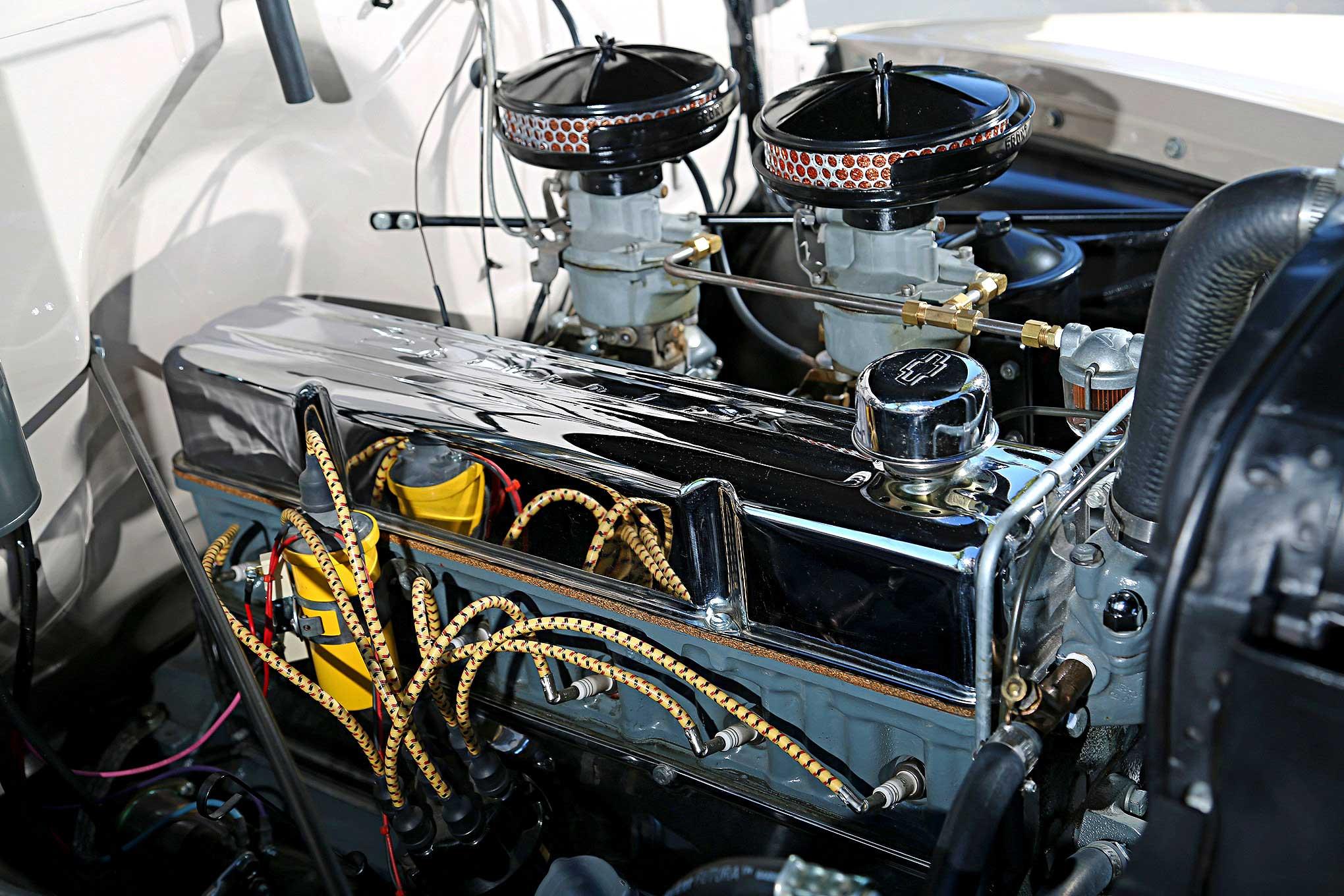 Chevrolet Engine on 1957 Chevy 235 Engine