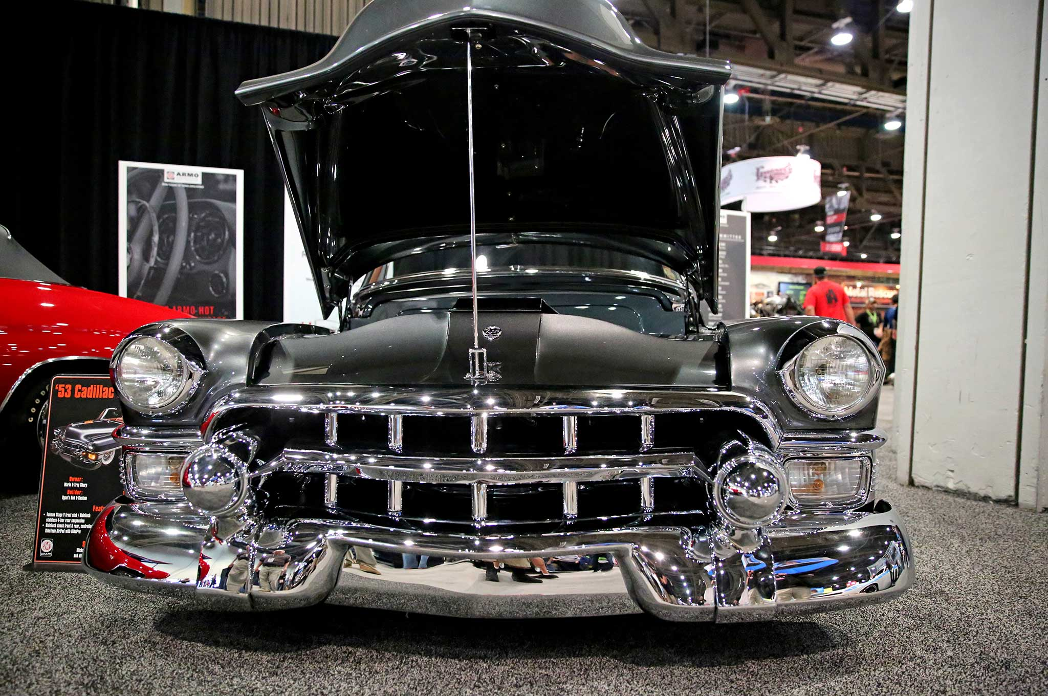 1953 cadillac front grill - Lowrider