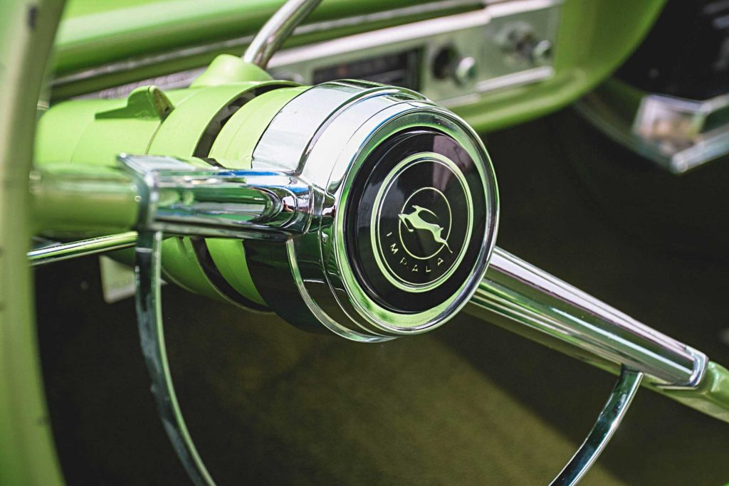 1964 chevrolet impala horn button