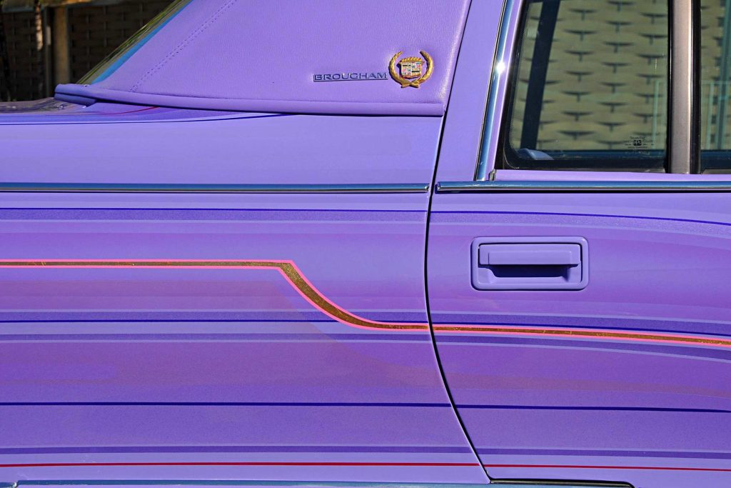 1995 cadillac fleetwood brougham lavender patterns