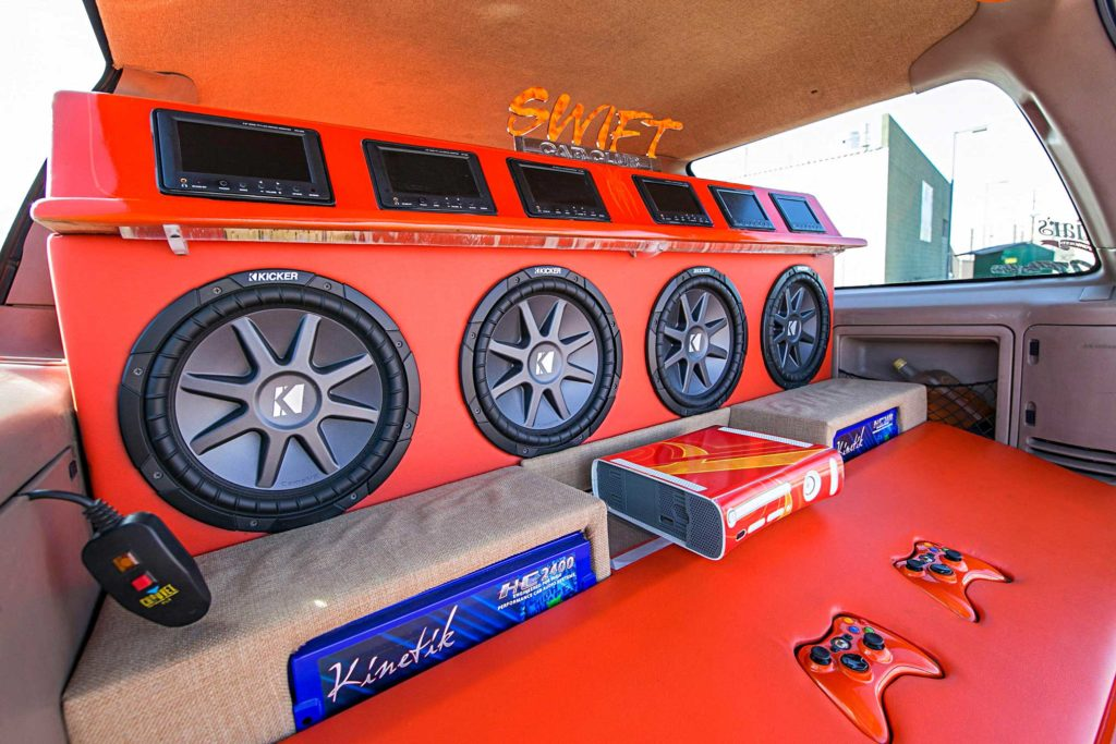 1999 ford expedition custom subwoofer enclosure