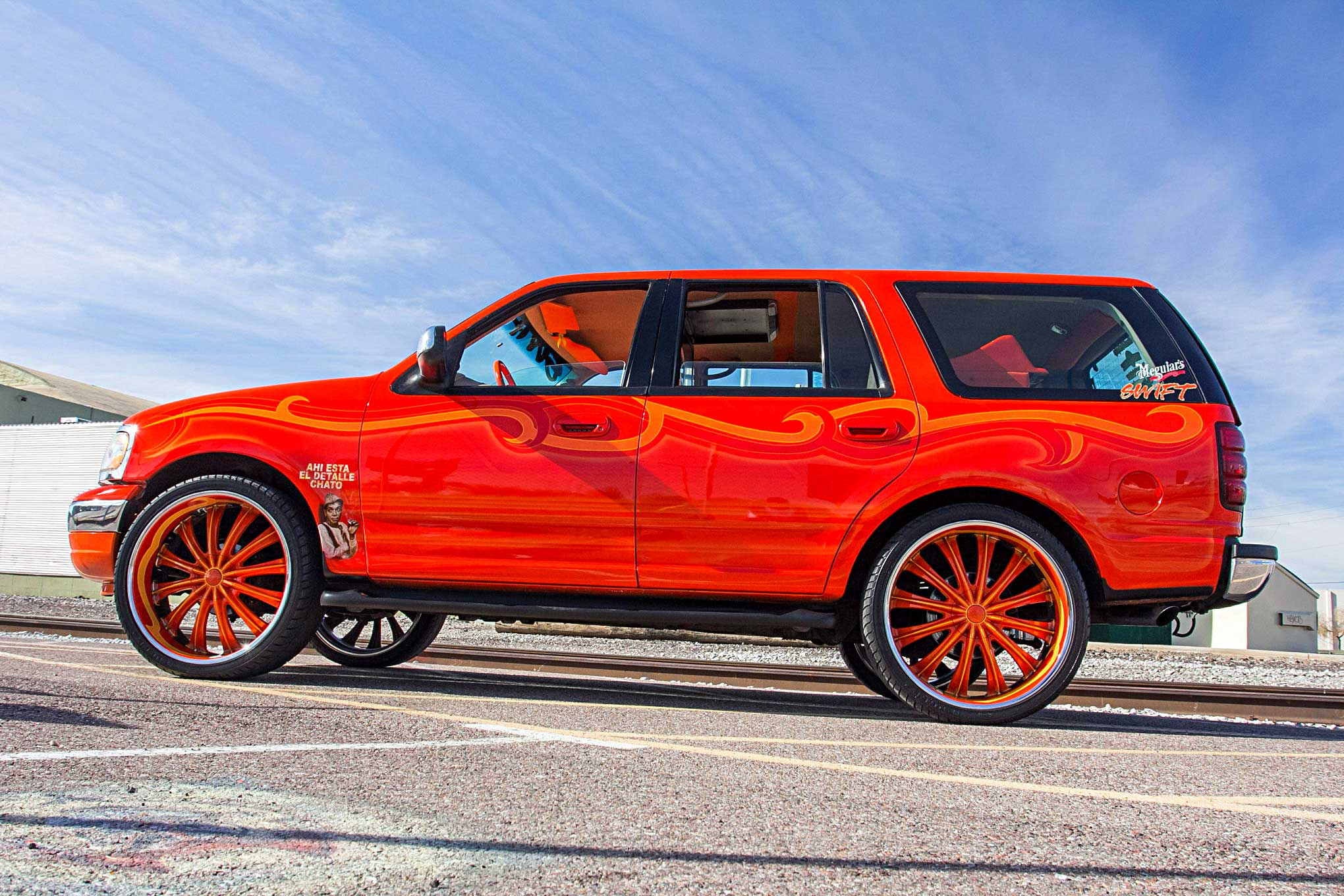 Roll Playerz 1999 Ford Expedition Tangerine Tantrum
