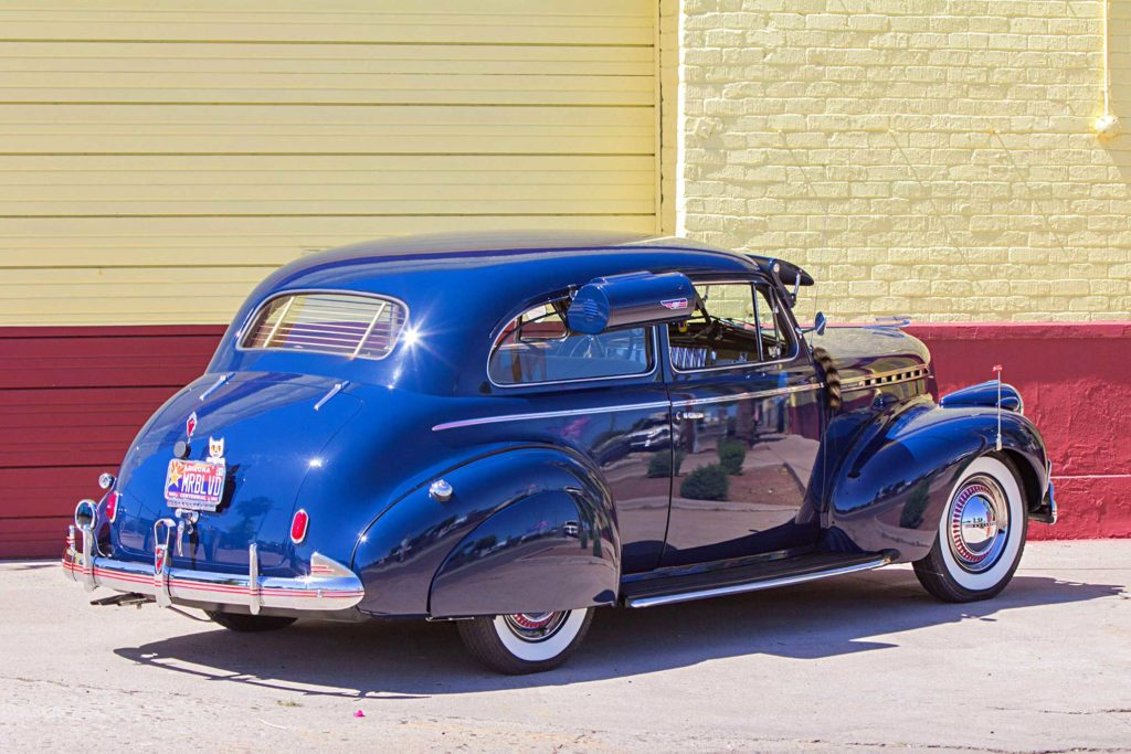 1940 chevrolet special deluxe passenger side rear view