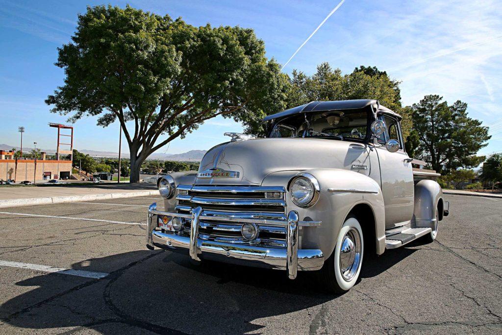 1953 chevrolet 3100 front end