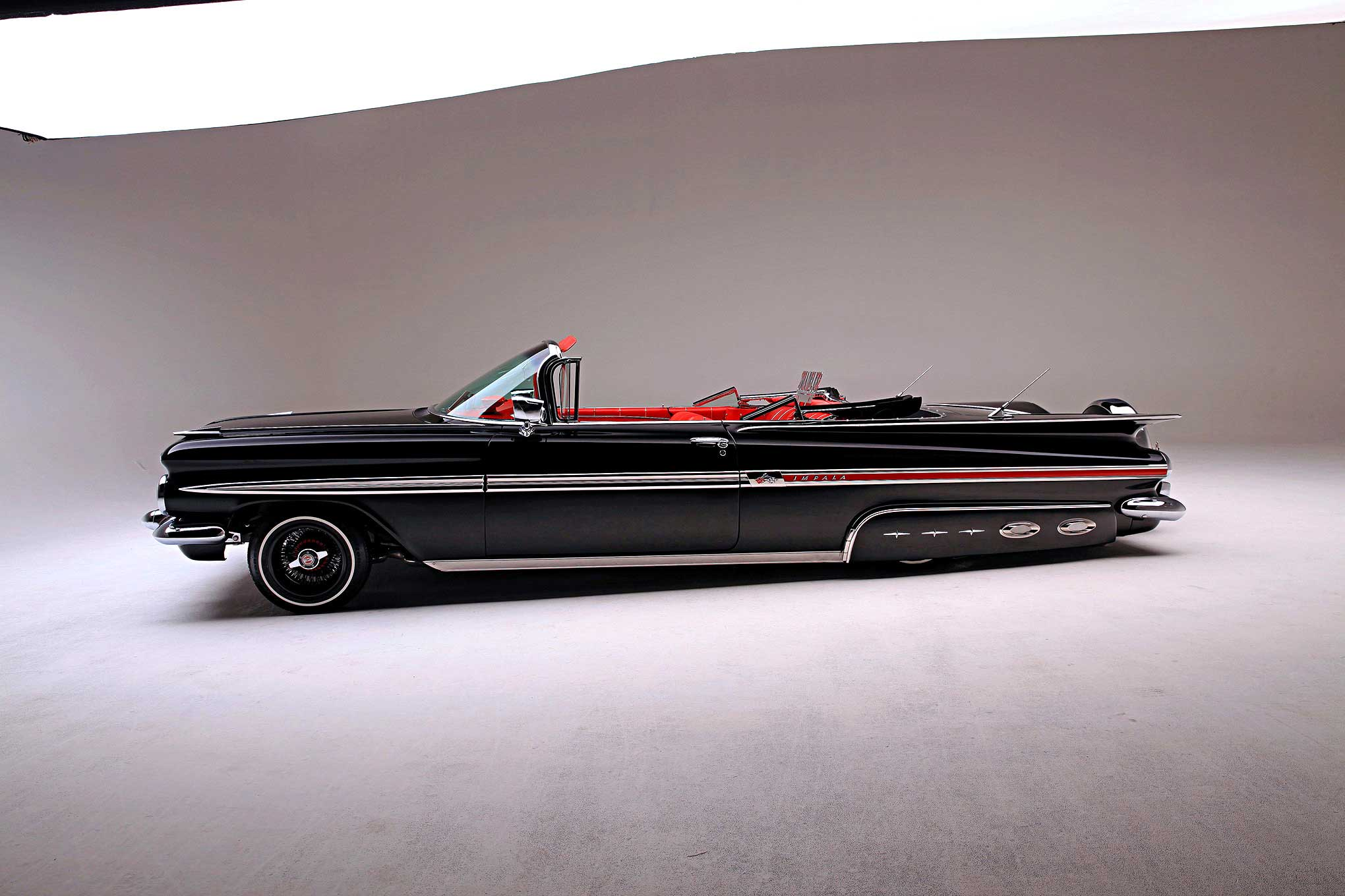 1959 Chevrolet Impala Convertible The Mothership 1954 Chevy Lowrider 44 83