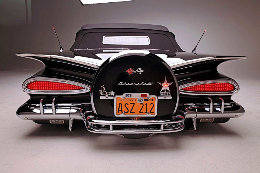 1959 chevrolet impala convertible rear bumper