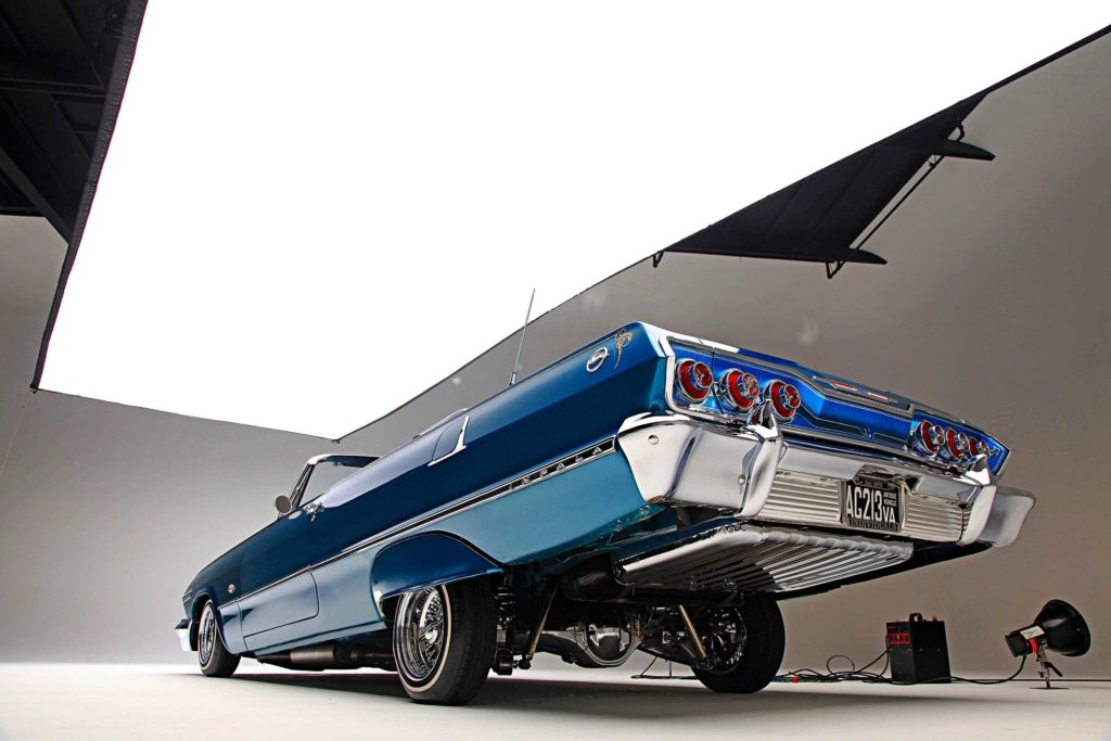 1963 chevrolet impala rear low view