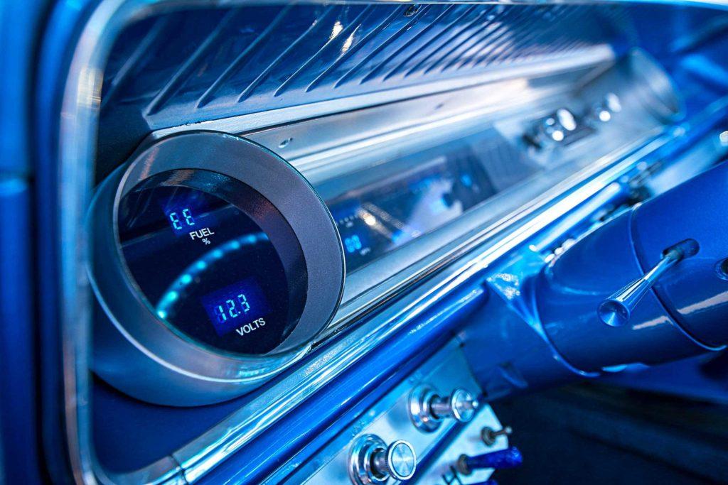 1965 chevrolet impala digital gauge cluster