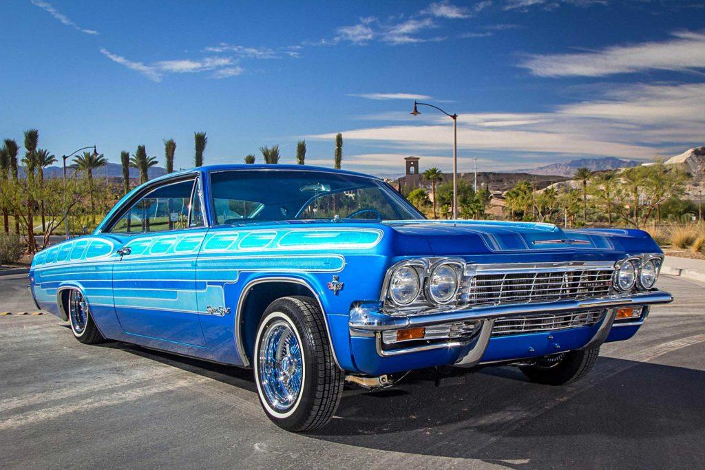 1965 chevrolet impala passenger side front view