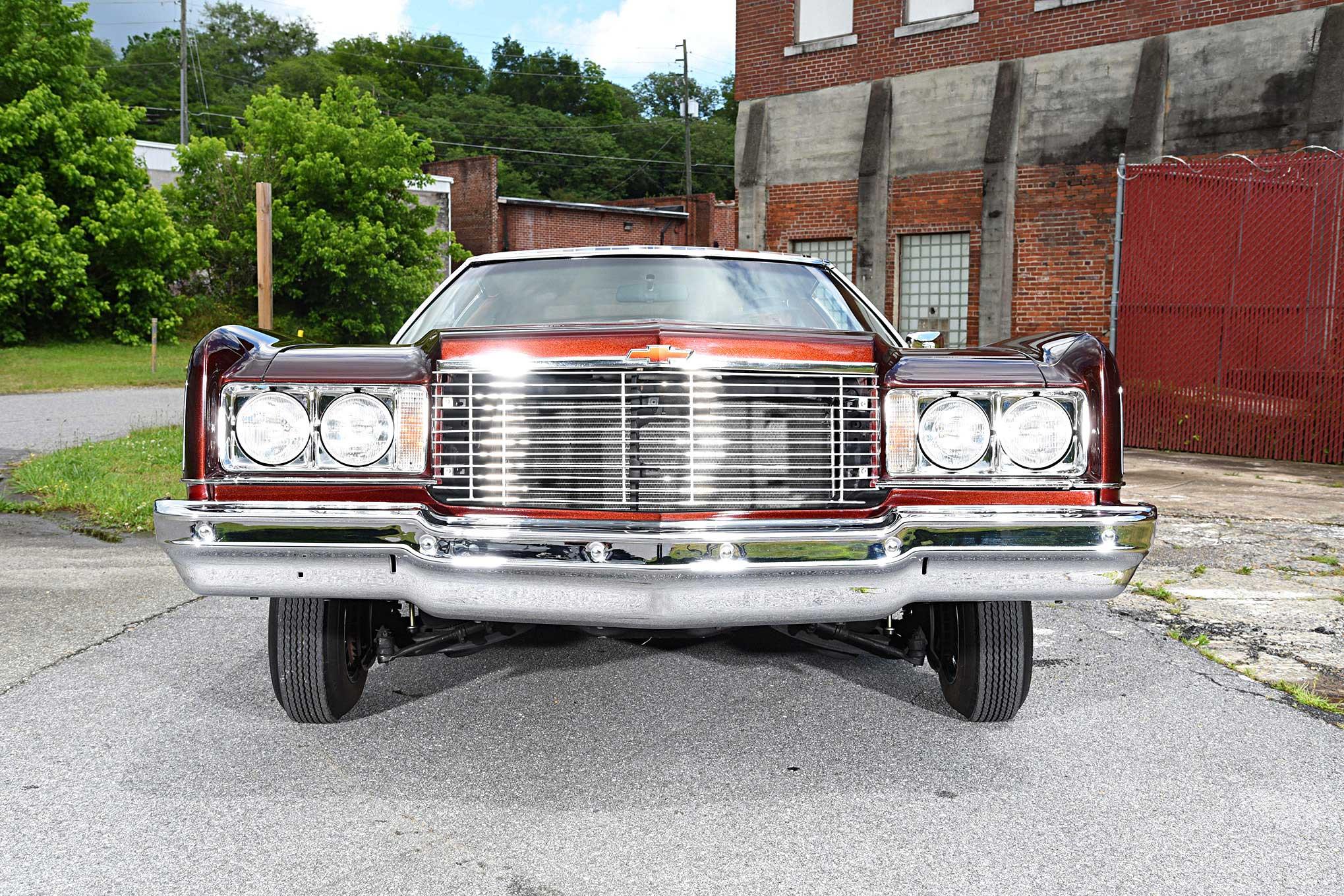 1975 Chevrolet Impala Glasshouse Front End Lowrider