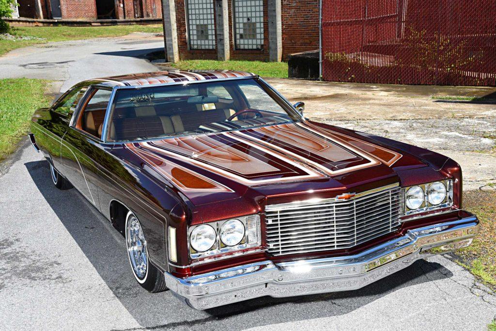 1975 chevrolet impala glasshouse top front fascia