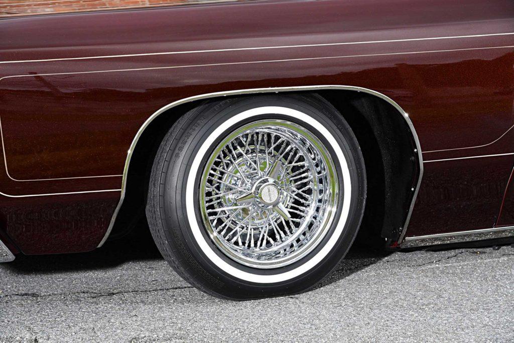 1975 chevrolet impala glasshouse tru spoke wheel