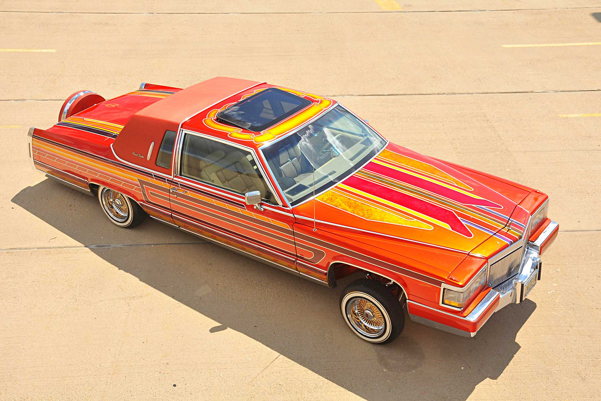 Cadillac Fleetwood Brougham Top View