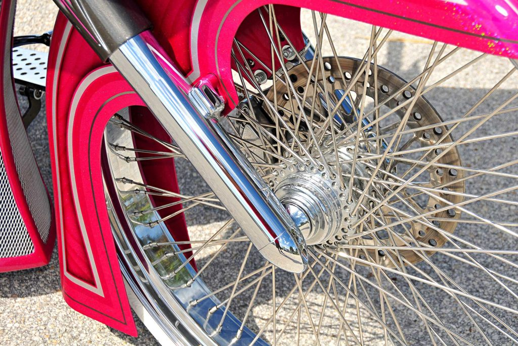 2008 harley davidson road glide wheel spoke