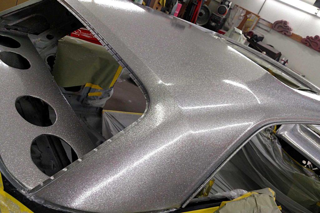 california funks custom paintjob cromax premum clearcoated body