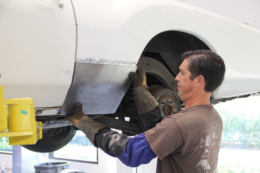 metal panel replacement opgi body restoration panel test fit