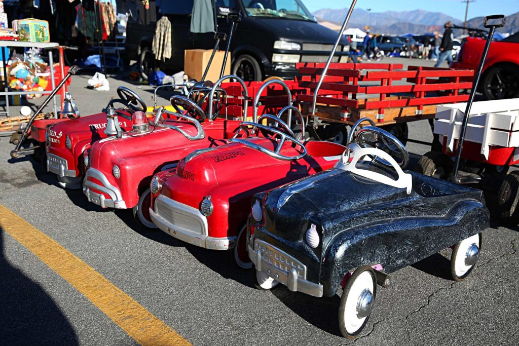 pomona swap meet pedal cars