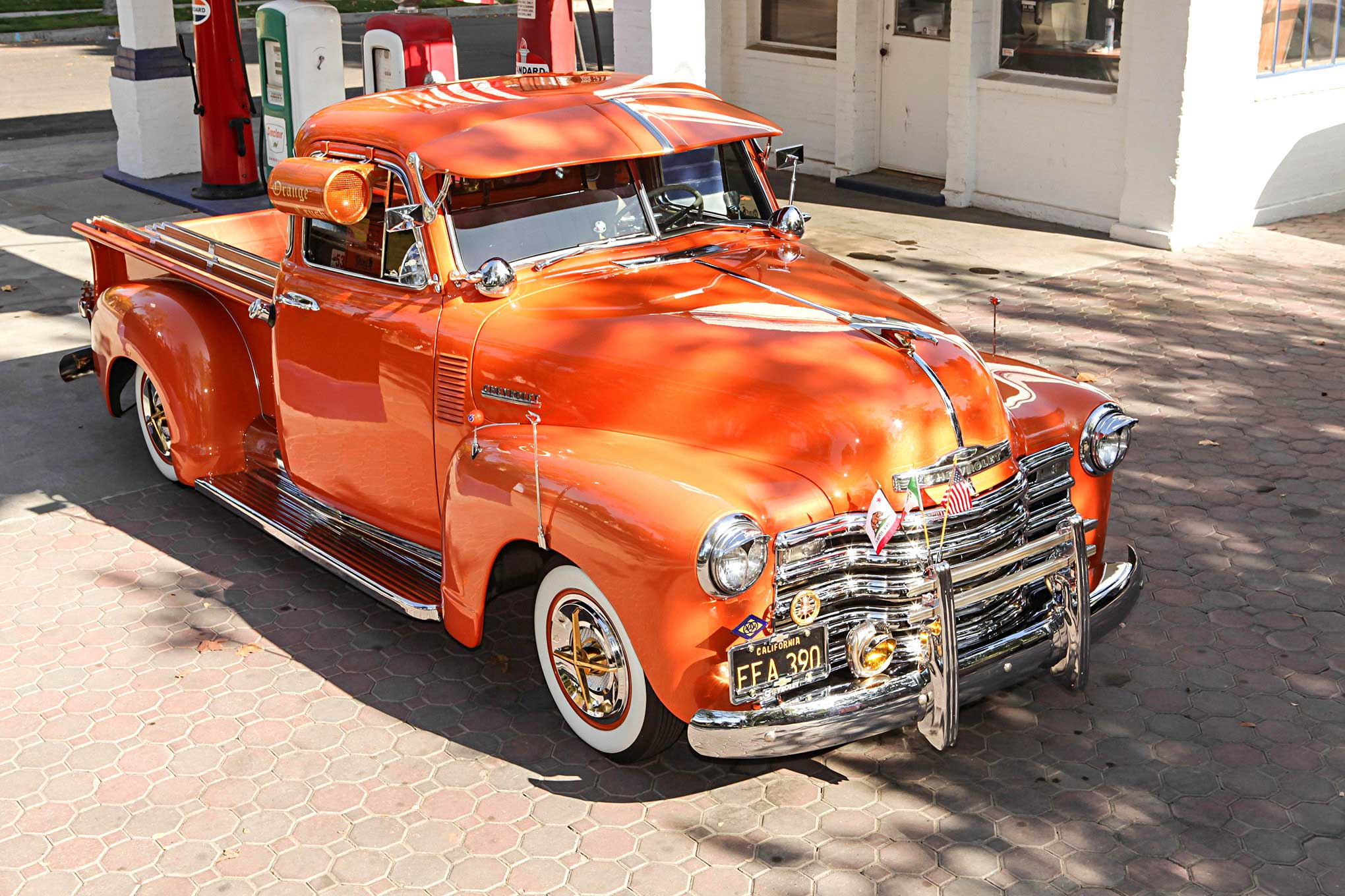 Building Orange Crush A 1953 Chevy 3100