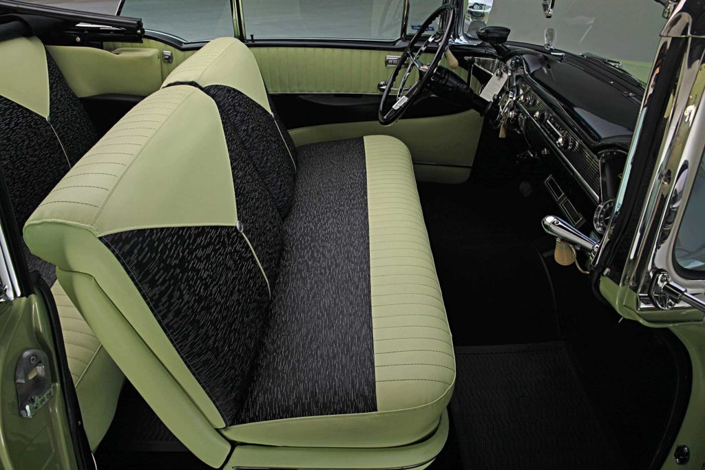 1956 chevrolet bel air front seat
